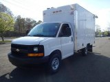 2014 Summit White Chevrolet Express Cutaway 3500 Utility Van #93137732