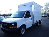 2014 Summit White Chevrolet Express Cutaway 3500 Utility Van #93137731