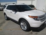 2014 White Platinum Ford Explorer XLT #93137796