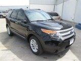 2014 Tuxedo Black Ford Explorer XLT #93137791
