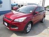 2014 Ruby Red Ford Escape Titanium 1.6L EcoBoost #93137790