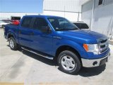 2014 Blue Flame Ford F150 XLT SuperCrew #93137787