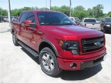 2014 Ruby Red Ford F150 FX4 SuperCrew 4x4 #93137785