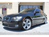 2008 Jet Black BMW 3 Series 335i Coupe #93137876