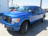 2014 Blue Flame Ford F150 STX SuperCrew #93156800