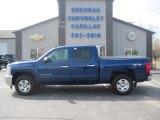 2012 Blue Topaz Metallic Chevrolet Silverado 1500 LT Crew Cab 4x4 #93161894