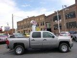 2009 Graystone Metallic Chevrolet Silverado 1500 LS Crew Cab 4x4 #93161534
