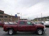 2013 Deep Ruby Metallic Chevrolet Silverado 1500 LT Crew Cab #93161531
