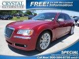 2012 Deep Cherry Red Crystal Pearl Chrysler 300 C #93161758