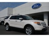 2014 White Platinum Ford Explorer Limited #93161567