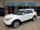 2014 White Platinum Ford Explorer Limited 4WD #93161807