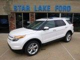 2014 White Platinum Ford Explorer Limited 4WD #93161807