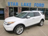 2014 White Platinum Ford Explorer Limited 4WD #93161806
