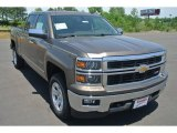 2014 Brownstone Metallic Chevrolet Silverado 1500 LTZ Z71 Crew Cab 4x4 #93161734