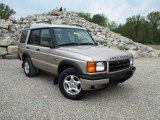 White Gold Land Rover Discovery II in 2000