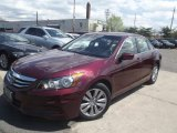 2011 Basque Red Pearl Honda Accord EX-L Sedan #93161624