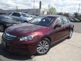 2011 Basque Red Pearl Honda Accord EX-L Sedan #93161624