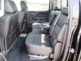 2014 GMC Sierra 1500 Denali Crew Cab 4x4 Rear Seat