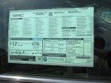 2014 GMC Sierra 1500 Denali Crew Cab 4x4 Window Sticker