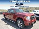 2014 Sunset Ford F150 STX SuperCab 4x4 #93197544
