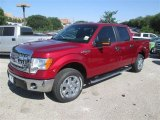 2014 Ruby Red Ford F150 XLT SuperCrew #93197420