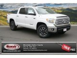2014 Super White Toyota Tundra Limited Crewmax 4x4 #93197341