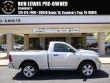 2012 Bright Silver Metallic Dodge Ram 1500 ST Regular Cab 4x4 #93197506