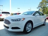 2013 White Platinum Metallic Tri-coat Ford Fusion SE #93197499