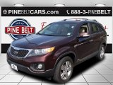 2012 Dark Cherry Kia Sorento EX AWD #93197394