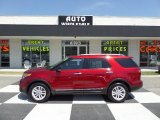 2013 Ruby Red Metallic Ford Explorer XLT EcoBoost #93197691