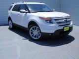 2014 White Platinum Ford Explorer Limited #93245976