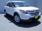 2014 White Platinum Ford Explorer XLT #93245975