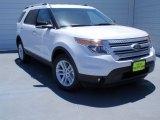 2014 White Platinum Ford Explorer XLT #93245975
