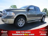 2014 Prairie Pearl Coat Ram 1500 Laramie Longhorn Crew Cab #93245779