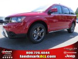 2014 Redline 2-Coat Pearl Dodge Journey Crossroad #93245776