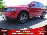 2014 Redline 2-Coat Pearl Dodge Journey Crossroad #93245773