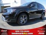 2014 Pitch Black Dodge Journey Crossroad #93245772