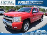 2011 Victory Red Chevrolet Silverado 1500 LT Extended Cab #93246125