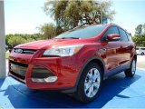 2014 Ruby Red Ford Escape Titanium 2.0L EcoBoost #93245725