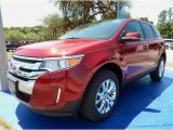 2014 Ruby Red Ford Edge SEL #93245724