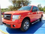 2014 Race Red Ford F150 STX SuperCab #93245722