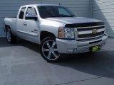 2013 Silver Ice Metallic Chevrolet Silverado 1500 LT Extended Cab #93245993