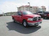 2012 Flame Red Dodge Ram 1500 SLT Quad Cab 4x4 #93246072