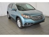 2014 Mountain Air Metallic Honda CR-V EX-L #93288898
