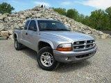 2004 Bright Silver Metallic Dodge Dakota SLT Club Cab 4x4 #93289410