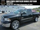 2014 Black Ram 1500 Big Horn Quad Cab 4x4 #93289148
