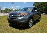 2013 Sterling Gray Metallic Ford Explorer Limited 4WD #93289314