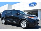 2014 Tuxedo Black Ford Explorer XLT #93289044