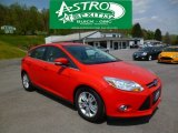 2012 Race Red Ford Focus SEL 5-Door #93289394