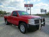 2012 Victory Red Chevrolet Silverado 1500 Work Truck Regular Cab 4x4 #93289380